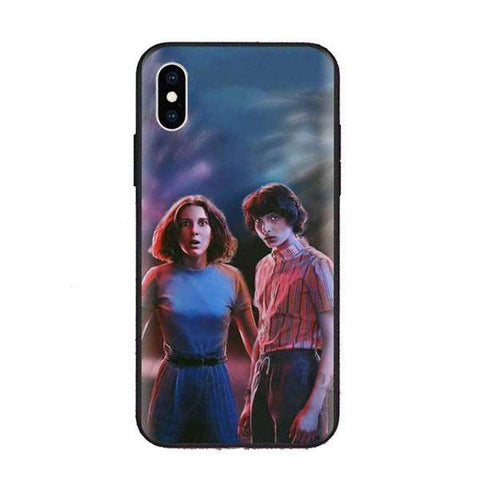 Coque Stranger Things® Mike & Eleven