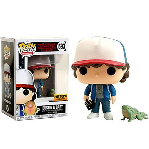 Figurine Pop Stranger Things® Dustin et Dart