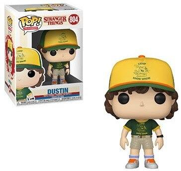 Figurine Pop Stranger Things® Dustin Saison 3