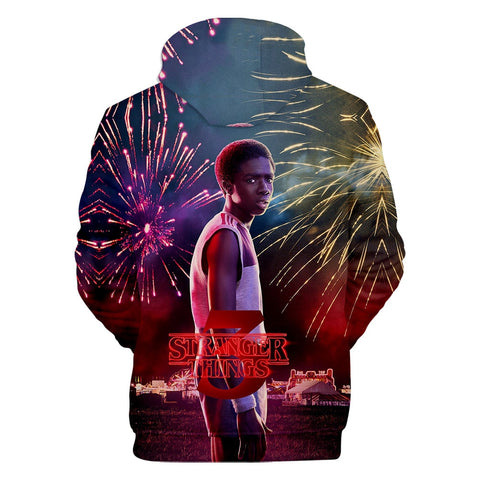Sweat Stranger Things® Lucas Saison 3