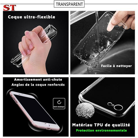 Coque iPhone Stranger Things® Eleven & Max