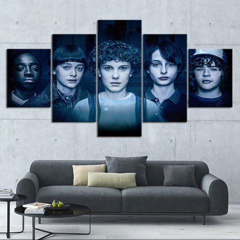Tableau Stranger Things® <br> Personnages Saison 2