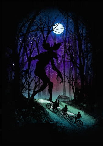 Poster Stranger Things® Demogorgon