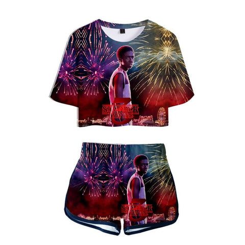 Pyjama Stranger Things® Lucas Saison 3