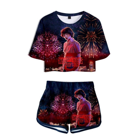 Pyjama Stranger Things® Mike Saison 3
