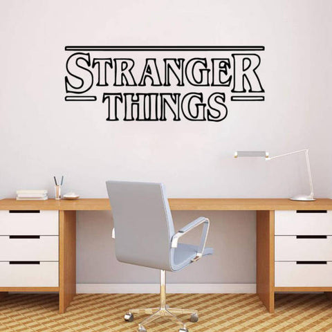 Sticker Mural Stranger Things® Générique