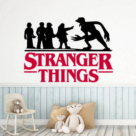 Sticker Mural Stranger Things®