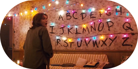 Guirlande Stranger Things®