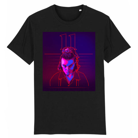 T-Shirt Stranger Things® Onze Néon