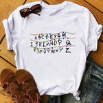 T-Shirt Stranger Things® Alphabet
