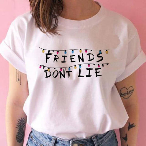 T-Shirt Stranger Things® Friends Don't Lie