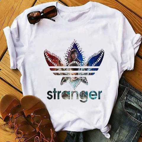 T-Shirt Stranger Things® Logo Stranger