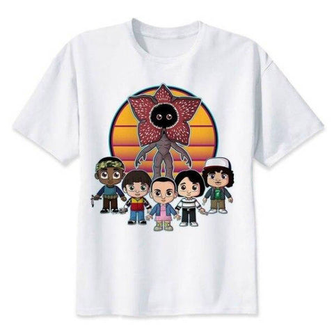 T-Shirt Stranger Things® Petit Personnages