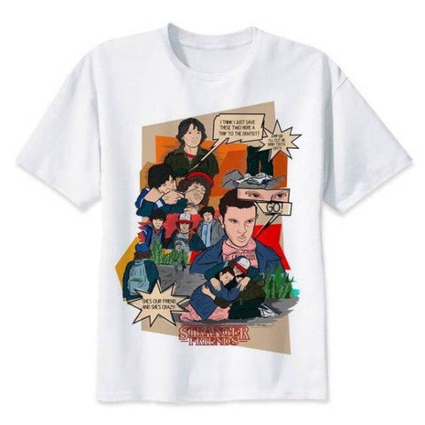 T-Shirt Stranger Things® Scène Saison 1