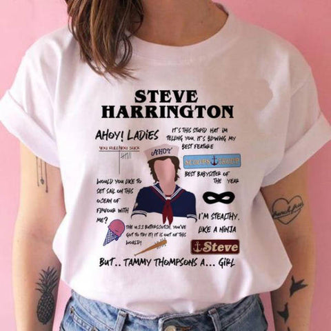 T-Shirt Stranger Things® Steve Harrington
