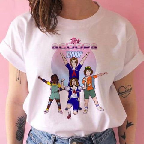 T-Shirt Stranger Things® The Scoops Troop