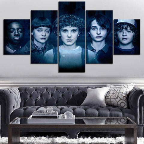 Tableau Stranger Things® Personnages Saison 2