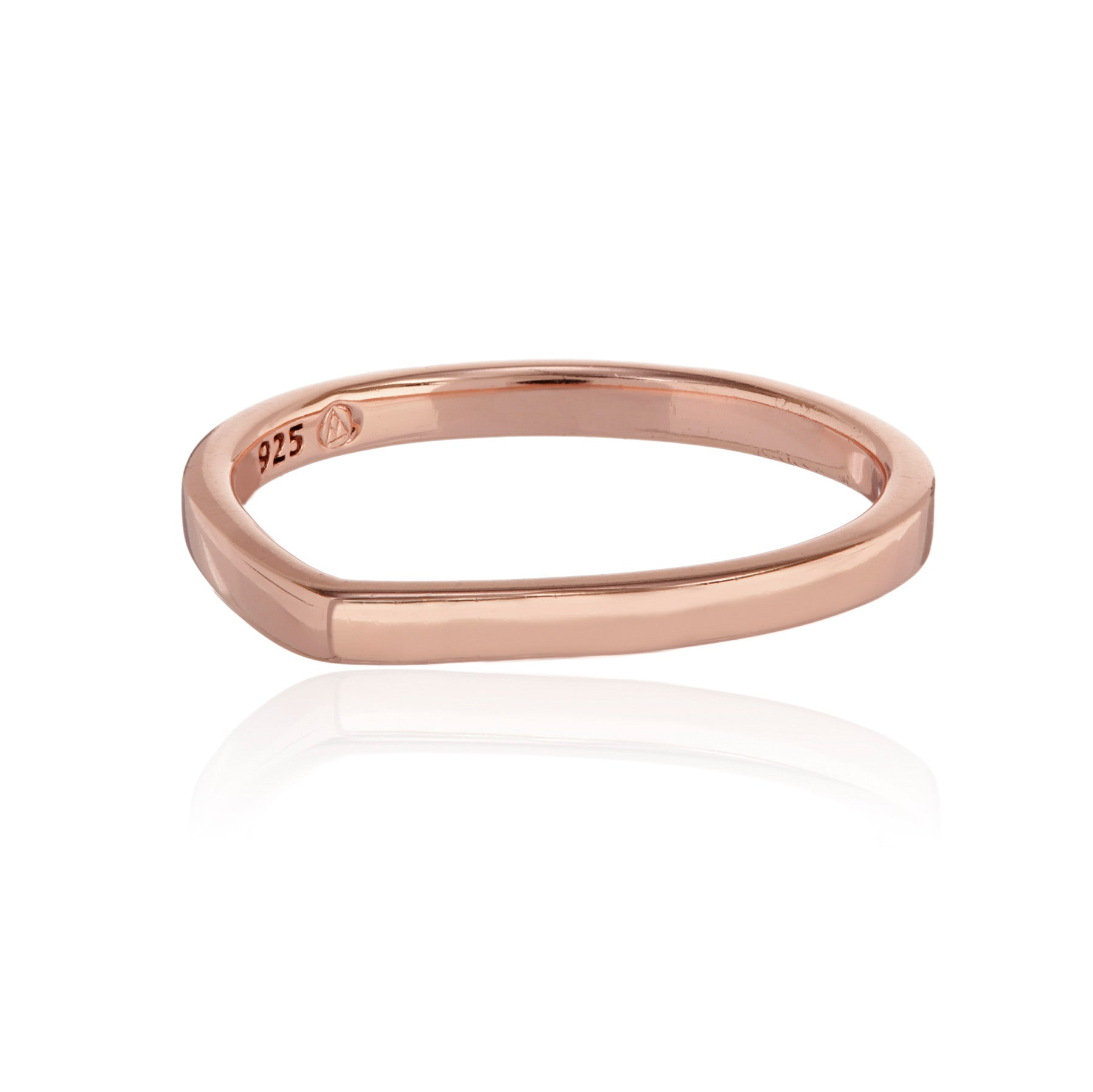 Marie Teardrop Stacking Ring