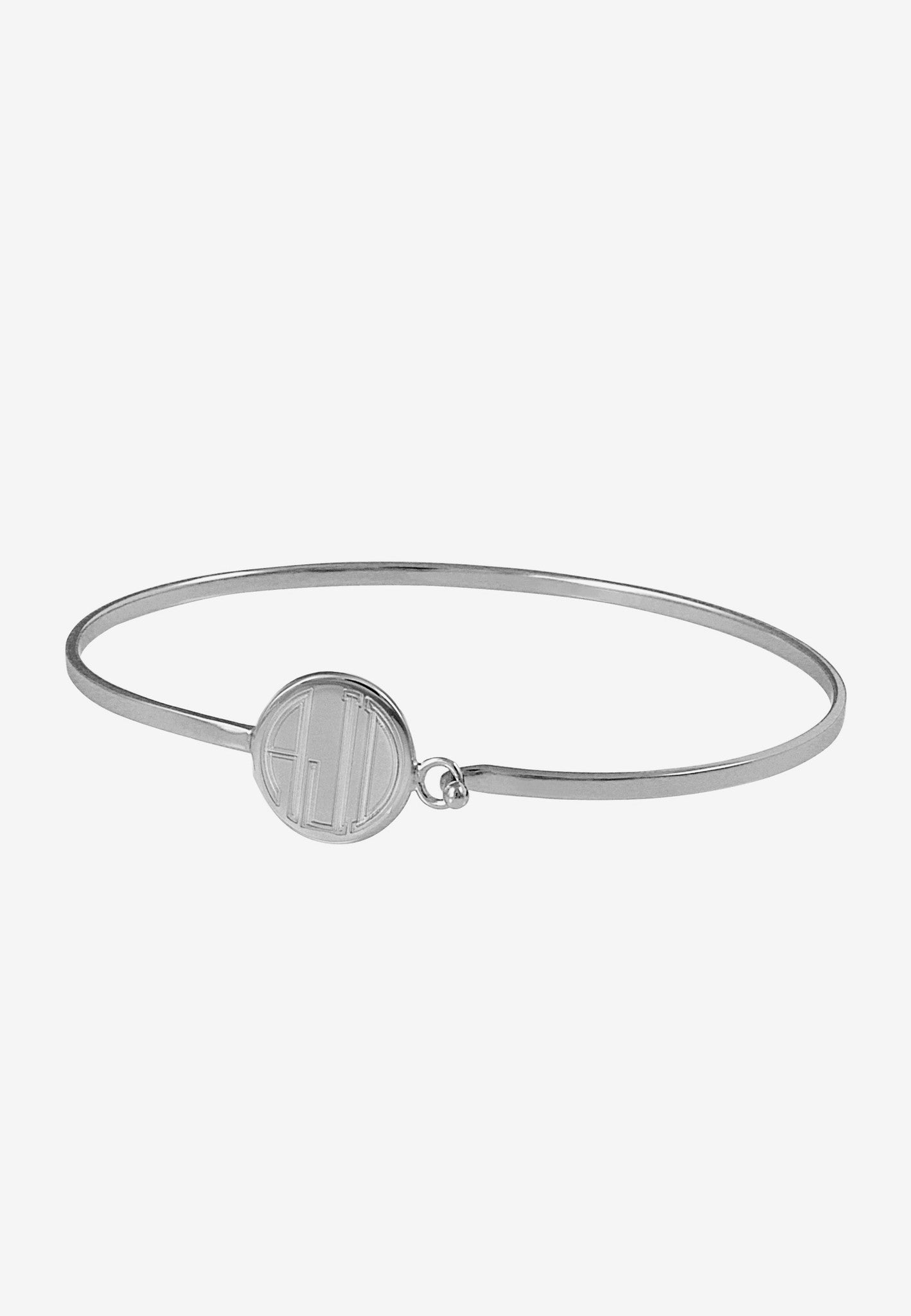 Byrdie Monogram Bangle