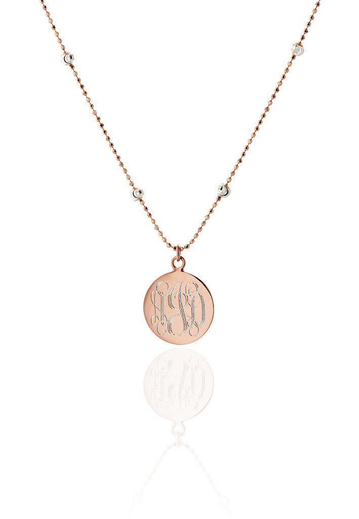 Baxter Monogram Necklace