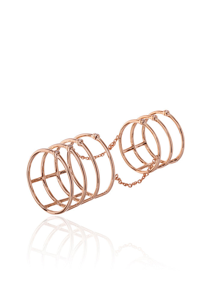 Camden Double Cage Ring