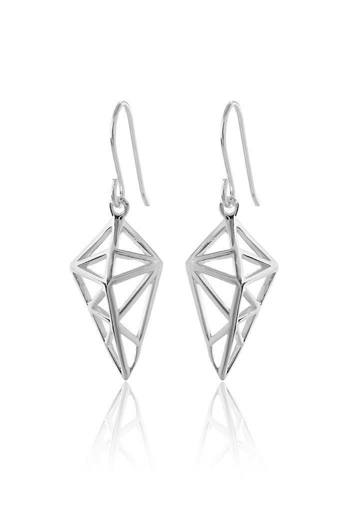 Diamantia Geometric Earrings