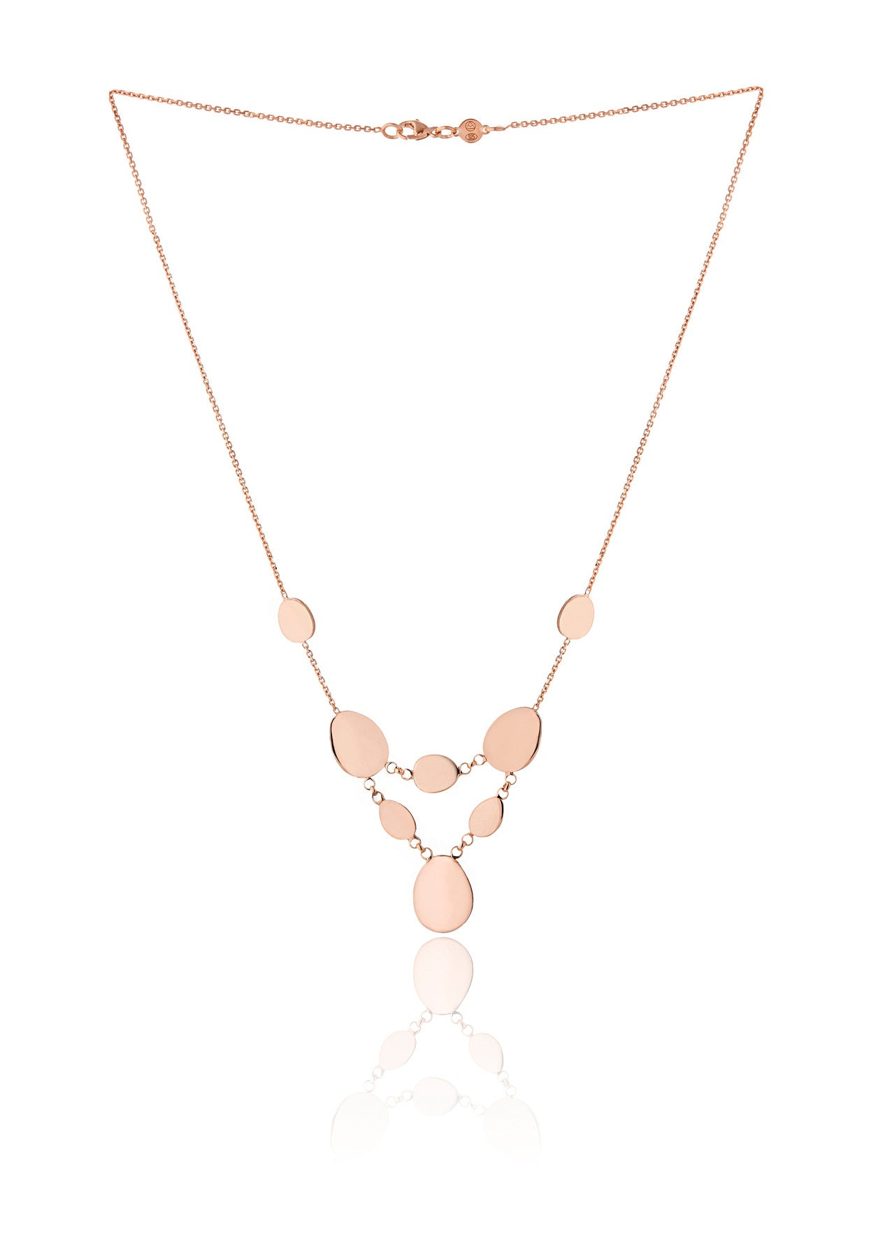 Elena Bubble Chandelier Necklace