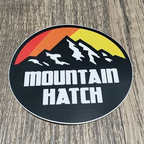Mountain Hatch Sticker