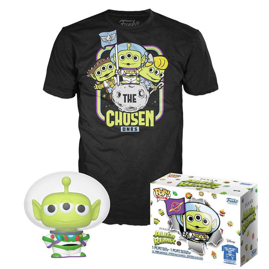 Disney | Pixar Alien Remix (Exc) Funko Pop Figur & T-Shirt - Stuffbringer