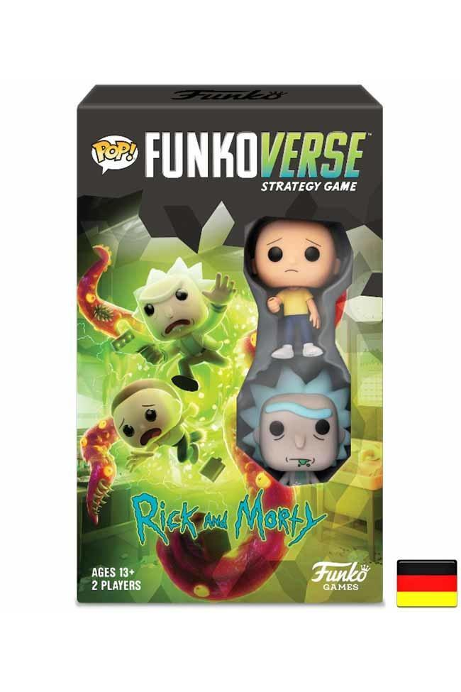Funkoverse | Rick and Morty (Expandalone) Brettspiel - Stuffbringer