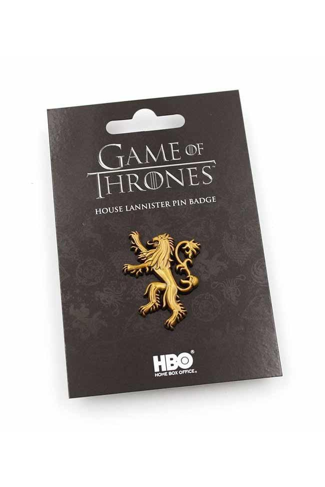 Game of Thrones | Haus Lannister Ansteck-Pin - Stuffbringer