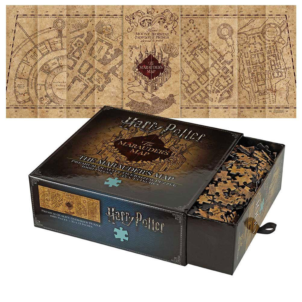Harry Potter | Marauders Map Puzzle