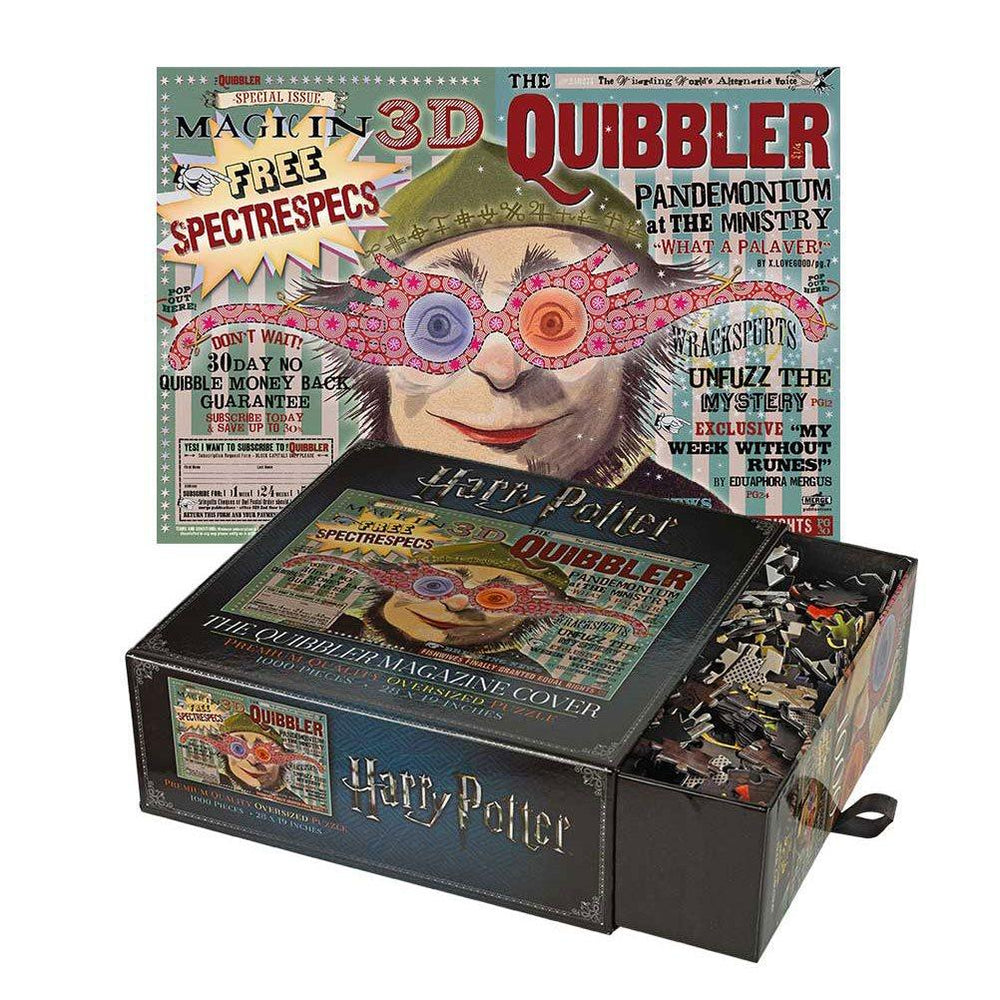 Harry Potter | The Quibbler Magazine Cover Puzzle