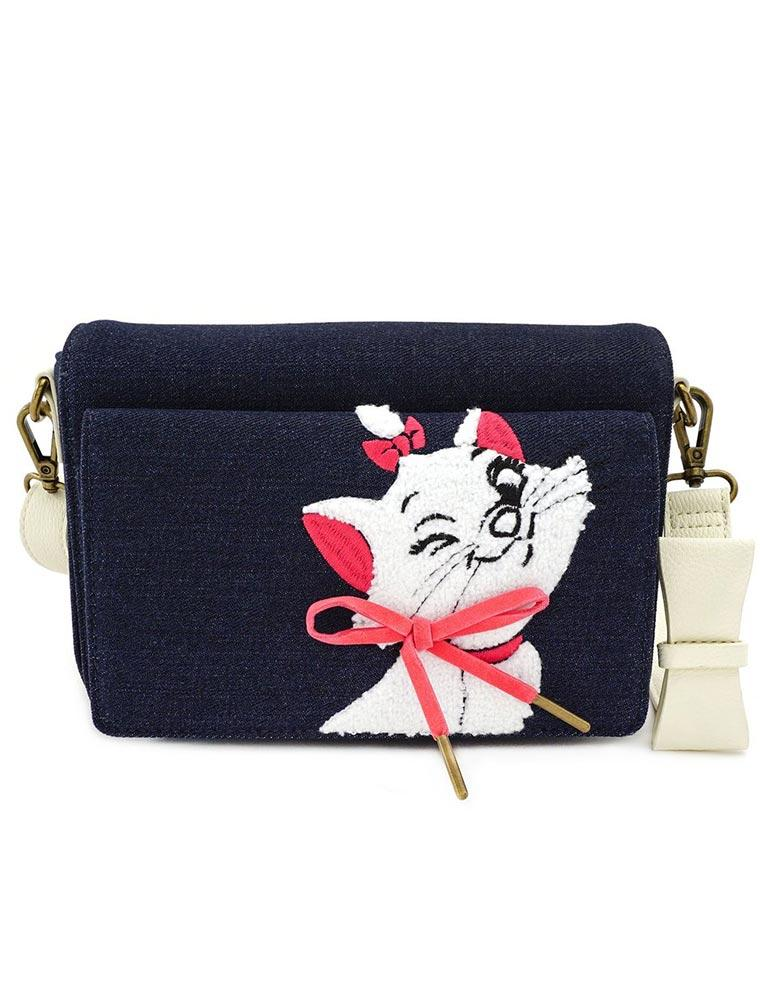 Loungefly Disney | Marie Denim Crossbody Bag