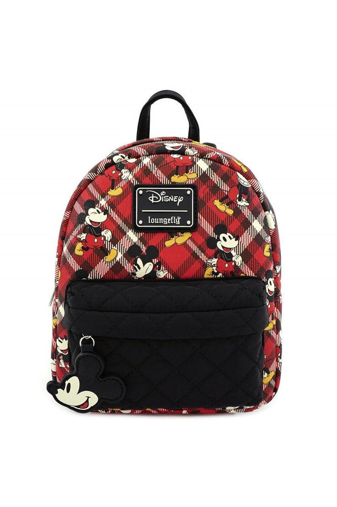 Loungefly Disney | Mickey Mouse (Kariert) Mini Rucksack