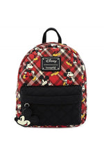 Loungefly Disney | Mickey Mouse (Kariert) Mini Rucksack - Stuffbringer