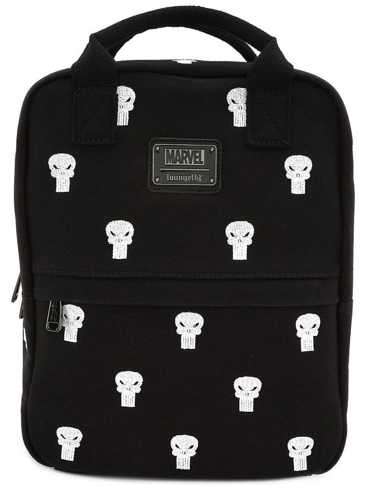 Loungefly Marvel | Punisher (Canvas) Mini Rucksack