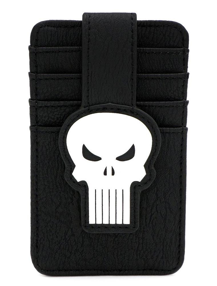Loungefly Marvel | Punisher (Skull) Kartenetui - Stuffbringer