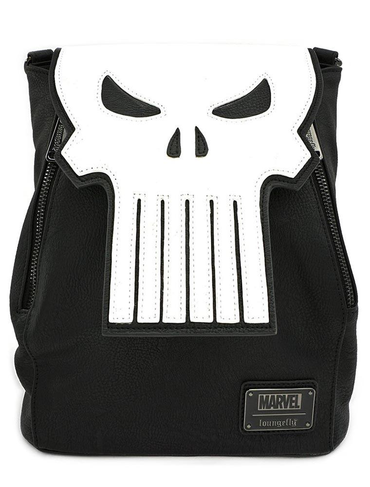 Loungefly Marvel | Punisher (Skull) Mini Rucksack - Stuffbringer