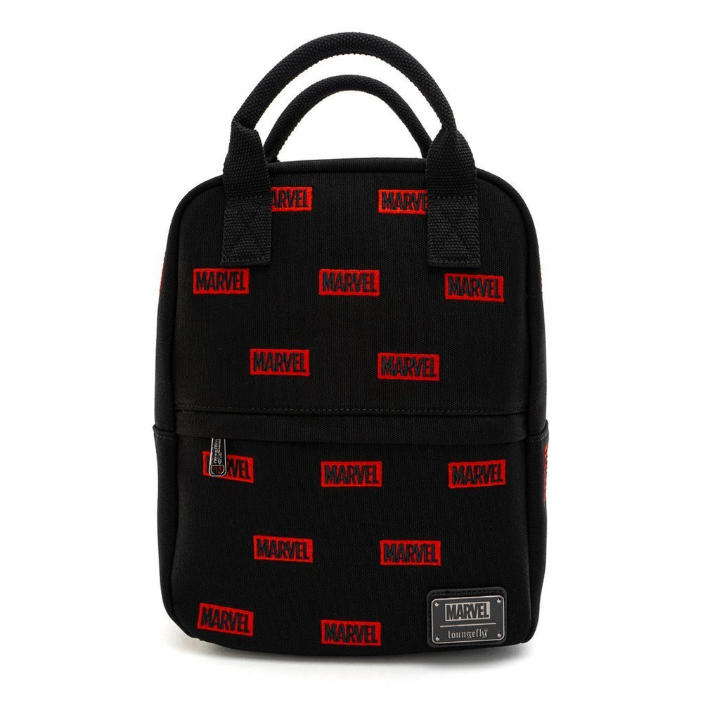 Loungefly x Marvel | Logo AOP (Canvas) Mini Rucksack