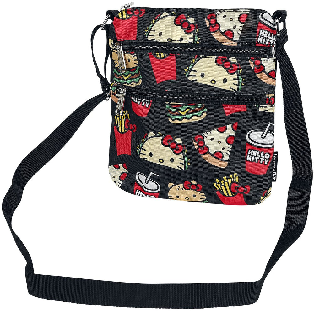 Loungefly x Sanrio | Hello Kitty Snacks (Nylon) Crossbody Bag