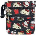 Loungefly x Sanrio | Hello Kitty Snacks (Nylon) Crossbody Bag - Stuffbringer
