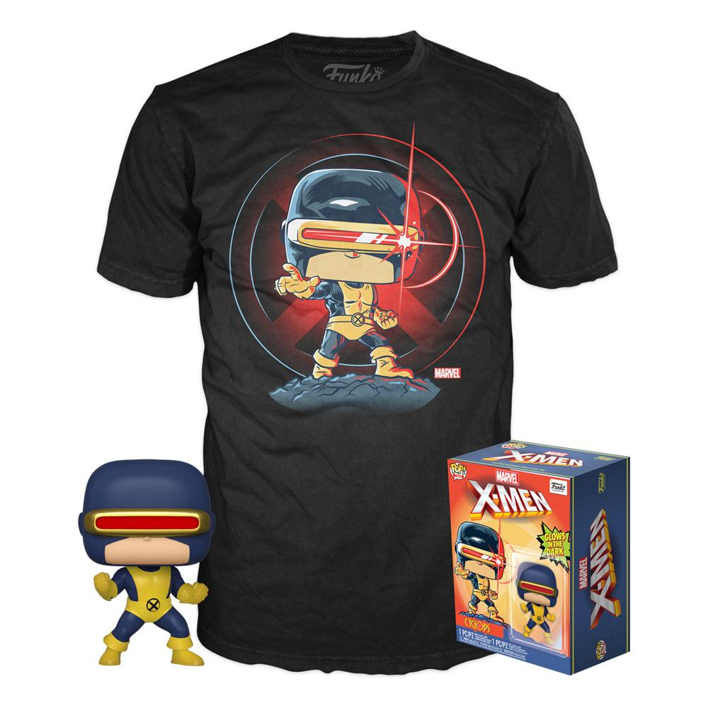 Marvel 80th | First Appearance Cyclops (Exc) Funko Pop Figur & T-Shirt - Stuffbringer