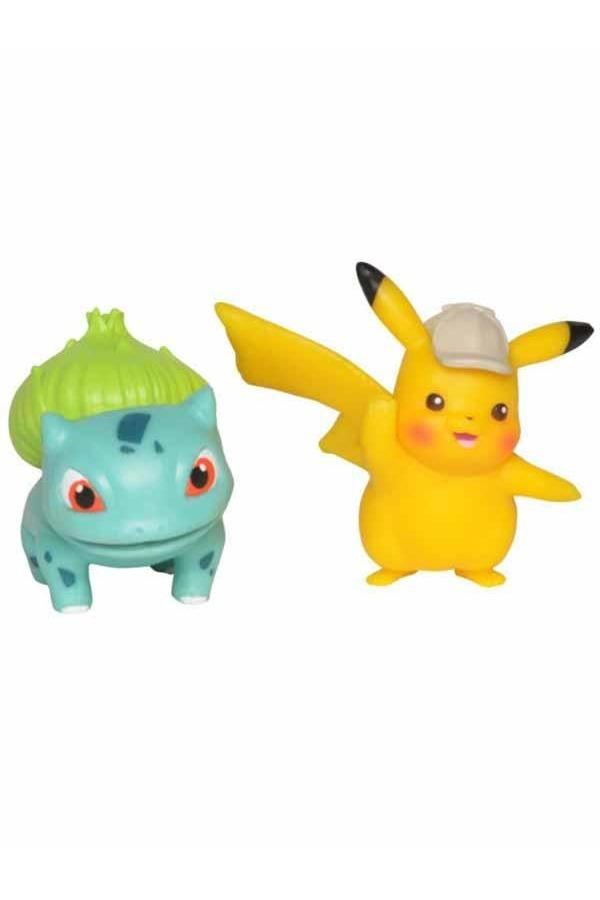 Pokemon | Pikachu & Bisasam Battle Figuren 2er-Set - Stuffbringer