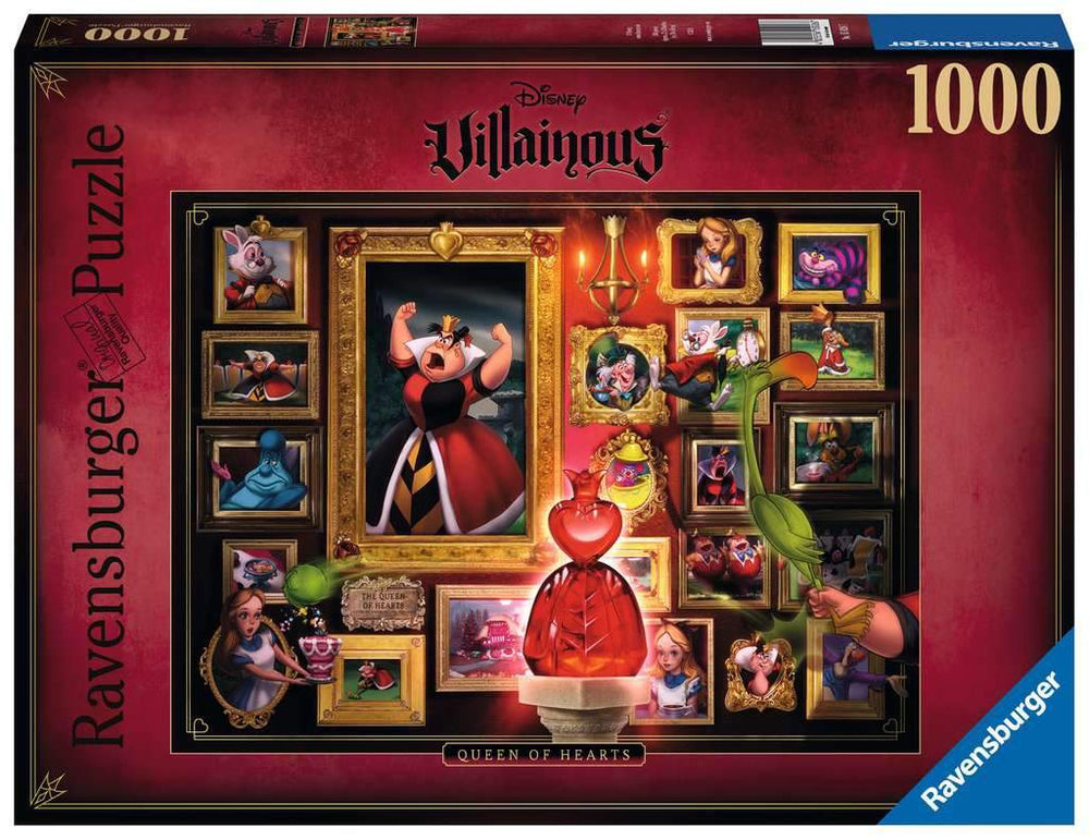 Ravensburger Puzzle | Disney - Queen of Hearts (1000 Teile)