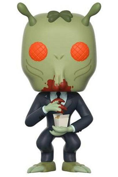 Rick and Morty | Cornvelious Daniel Funko Pop Vinyl Figur - Stuffbringer
