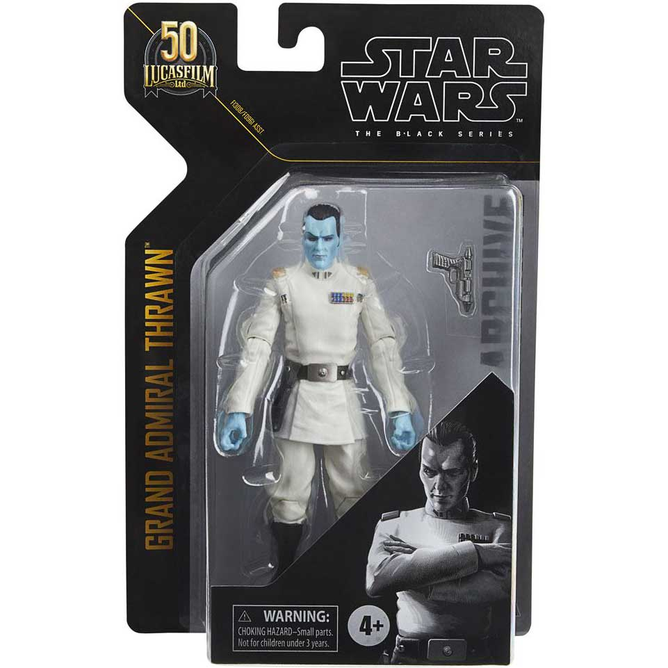 Star Wars | Grand Admiral Thrawn (Black Series) Actionfigur