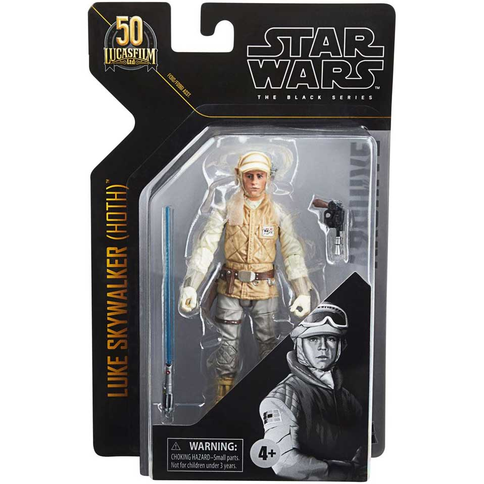 Star Wars | (Hoth) Luke Skywalker (Black Series) Actionfigur