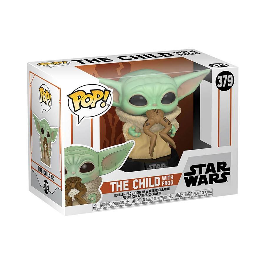 The Mandalorian | The Child w/ Frog Funko Pop Vinyl Figur