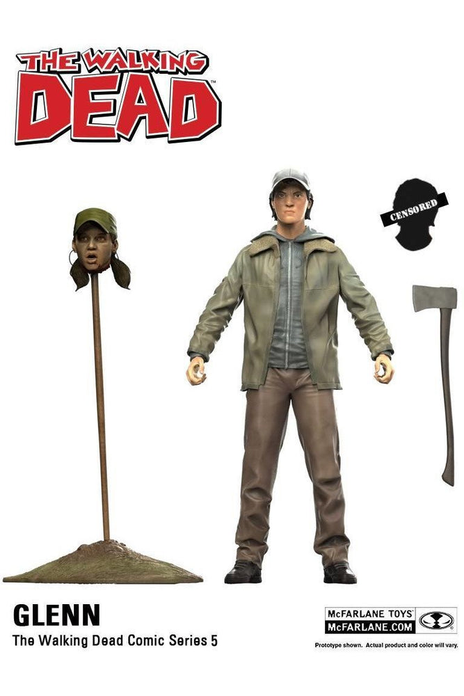 The Walking Dead Comic Series 5: Glenn Figur - Stuffbringer
